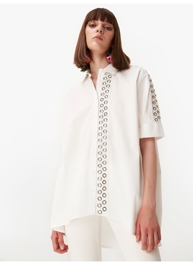 Twist Tunik Beyaz